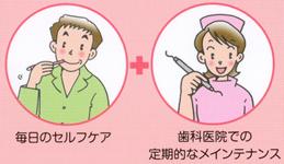 歯磨きのポイント
